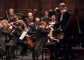 `American pianist Garrik Ohlsson at the piano with the ST. Petersburg Symphony Orchestra - CAMA Santa Barbara 3/14/17 The Granada Theatre