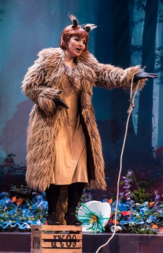"Isabel Bayrakdarian as ""The Cunning Little Vixen"" - Opera Santa Barbara 3/1/17 The Granada Theatre"