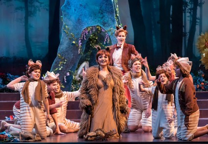"Opera Santa Barbara's ""The Cunning Little vixen"" 3/1/17 The Granada Theatre"