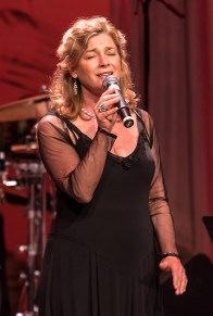 "Singer Kimberly Ford performing at the Center for Successful Aging's ""With A Song In My Heart"" 4/1/17 The Marjorie Luke Theatre"