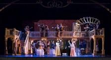 """Chorus & pirincipals in Opera Santa Barbara's """"La Rondine"""" 4/26/17 The Granada Theatre"""