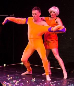 "Larry Keigwin & Nicole Wolcott performing ""Places Please"" - Santa Barbara Danceworks 4/25/17 The Lobero Theatre"
