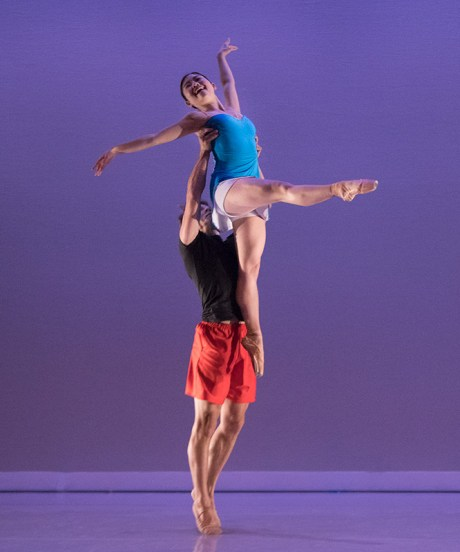 """John Piel & Marika Kobiashi in Cecily Stewart's """"Trains of Thought"""" - State Street Ballet 5/12/17 The New Vic Theatre"""