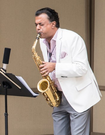 """""""Confluence"""" with Rudresh Mahanthappa at the Ojai Music Festival 6/11/17"""