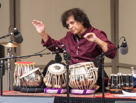"""Confluence"" with Zakir Hussein at the Ojai Music Festival 6/11/17"