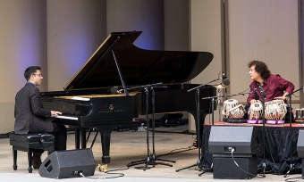 """""""Confluence"""" with Vijay Iyer and Zakir Hussein at the Ojai Music Festival 6/11/17"""