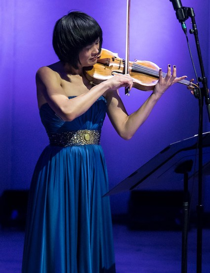 Jennifer Koh plays solo @ The Ojai Music Festival 6/9/17
