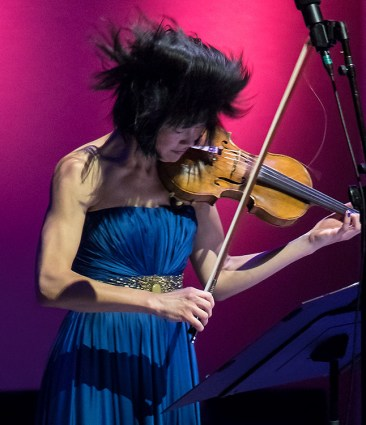Jennifer Koh plays solo @ The Ojai Music Festival 6/9/17