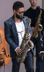 Saxophonist Mark Shim with the Vijay Iyer Sextet at the 2017 Ojai Music Festival 6/11/17 Libbey Bowl, Ojai, CA