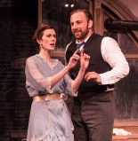 "Sara Brophy as Anna and Zander Meisner as Henry in Alan Knee's ""Syncopation"" - Ensemble Theatre Co. 6/7/17 The New vic Theatre"