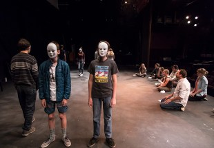 Ensemble Theatere Company Young Actors Conservatory with Education Director Marcus Giamatti 7/18/17 The New Vic Theatre