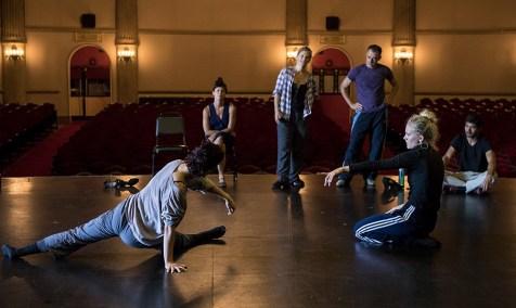 """Sin Salida/In Love I Broke Beyond"" rehearsals - Danceworks Santa Barbara 8/11/17 The Lobero Theatre"