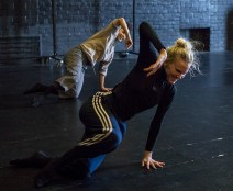 Nicole Vaughan-Diaz & Thryn Saxon of Kate Weare Company 8/11/17 The Lobero Theatre