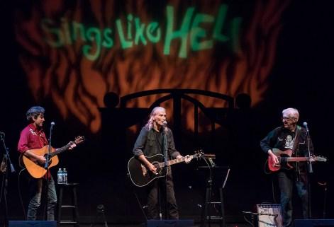 Sings Like Hell - Colin Gilmore, Jimmy Dale Gilmore & Bill Kirchen 7/29/2017 The Lobero Theatre