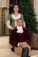Christian Pedersen (Darcy) & Paige Lindsey White (Lizzy)