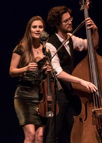 Grace Quebe & bassist Gavin Kelso