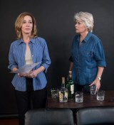 """Sharon Lawrence and Meredith Baxter rehearsing """"The City of Conversation"""" - Ensemble Theatre Co."""