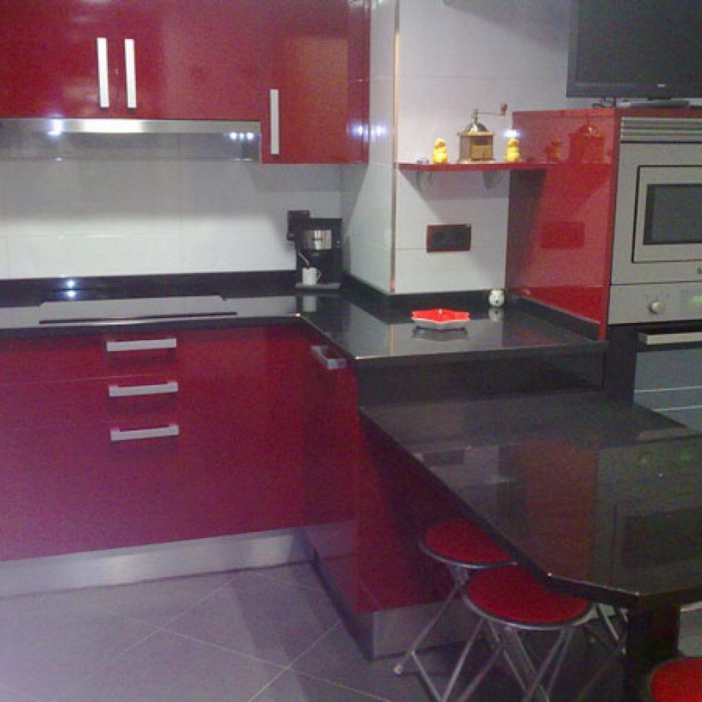 Awesome Mesa Cocina Roja