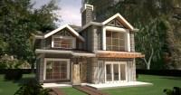 4 Bedroom Maisonette House Plans In Kenya