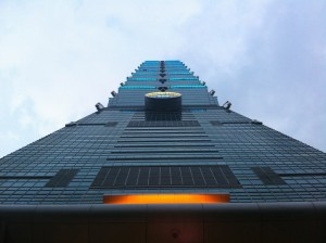 Taipei 101 from the ground up