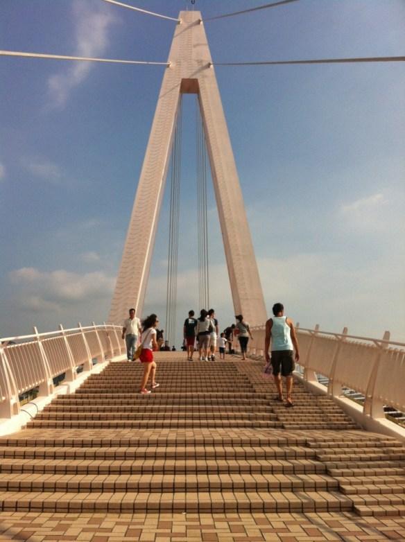 Fisherman's Wharf Lover's Bridge
