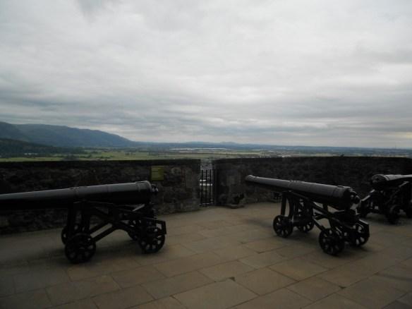 Stirling Castle overlooking Stirling