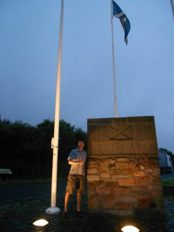 Scotland and England border