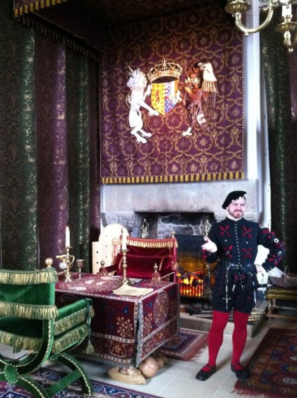 Jester in Stirling Castle