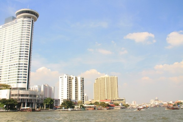 Chao Phraya River in all this glory...