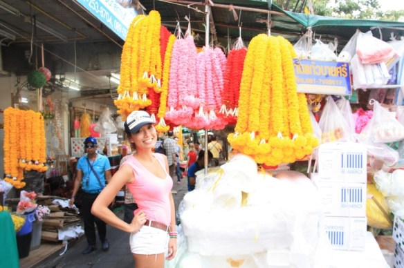 Colorful flower market!