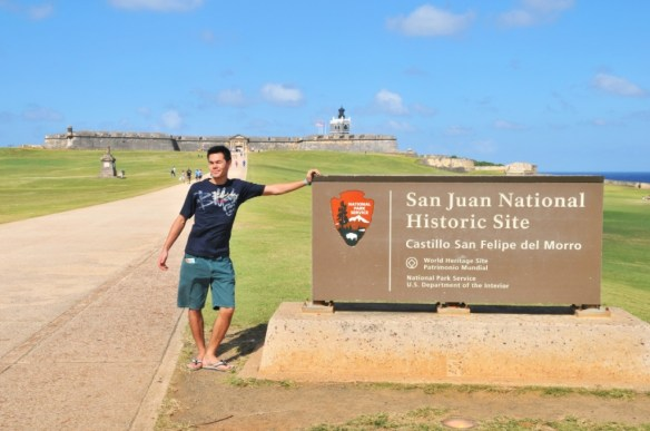 Made it to Puerto Rico's most famous site.
