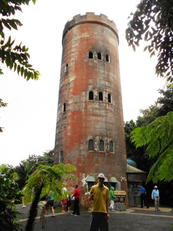 Yokahu Tower in El Yunque.