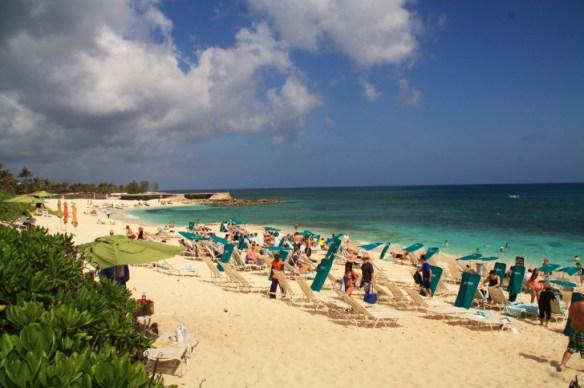 Atlantis' beach