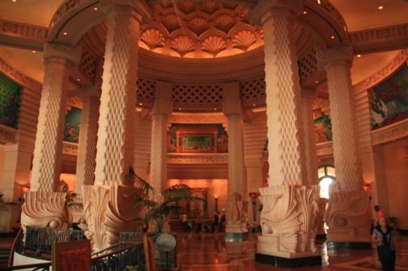 One of the lobbies at Atlantis.