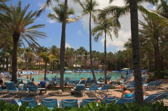 One of the eleven pools at Atlantis.