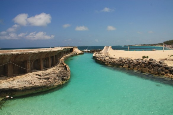 The water inlet to Atlantis, straight from the sea.