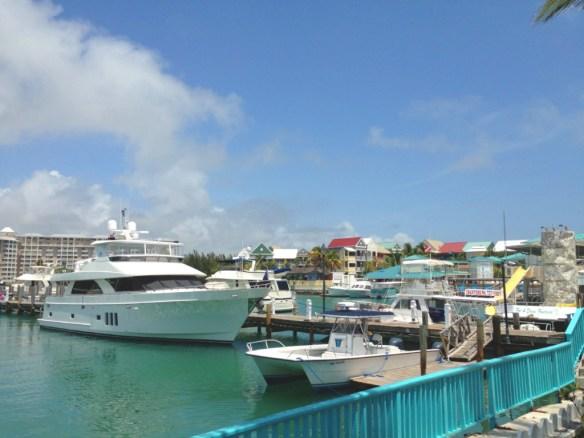 Port Lucaya Marina.
