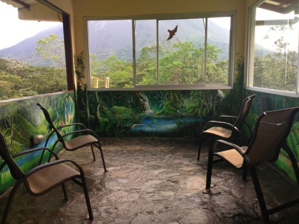 Bird Viewing Room Arenal Observatory Lodge