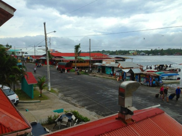 Bocas town seen from The Palma Royale.