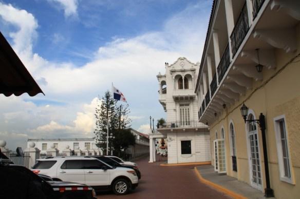 <strong>Palacio de las Garzas</strong> (Heron's Palace) is where the President lives.
