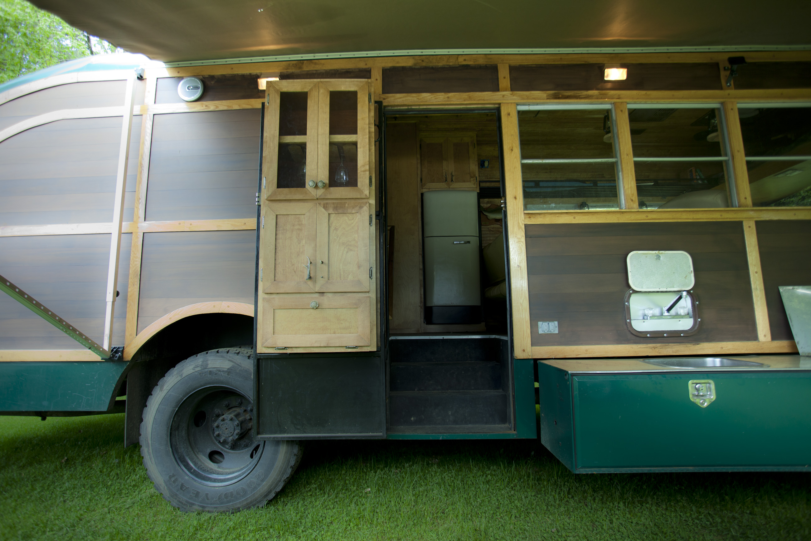 Exceptional Converted School Bus Camper David Dillon Llc School Bus Camper Hauler School Bus Camper Ideas curbed School Bus Camper