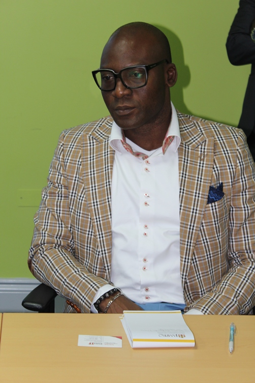 Mr Femi Niyi, Executive Director (Projects , Strategy and Research, Courteville Business Solutions PLC,. Photo courtesy David F Roberts