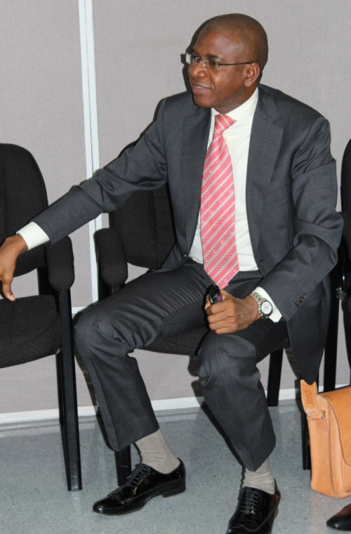 Mr Bola Akindele Group Managing Director, Courteville Business Solutions PLC.  Photo courtesy David F Roberts