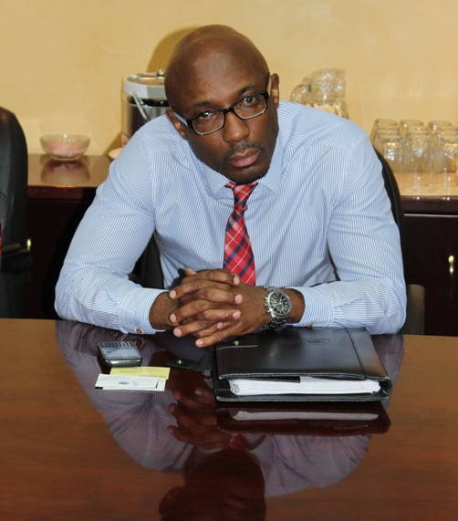 Mr Sekou Alleyne, Manager Investor Sourcing. Photo courtesy David F Roberts