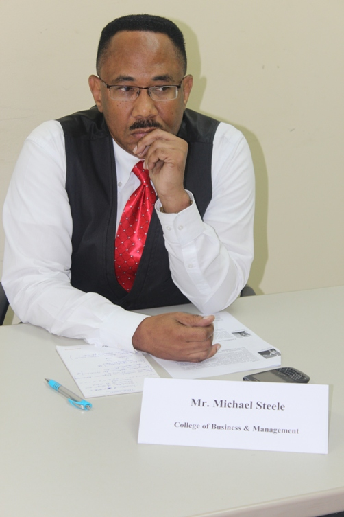 Mr Michael Steele concerned about value proposition on offer