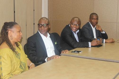 Claire Jackson, Femi Niyi, Wale Sonaike and Courteville MD Bola Akindele