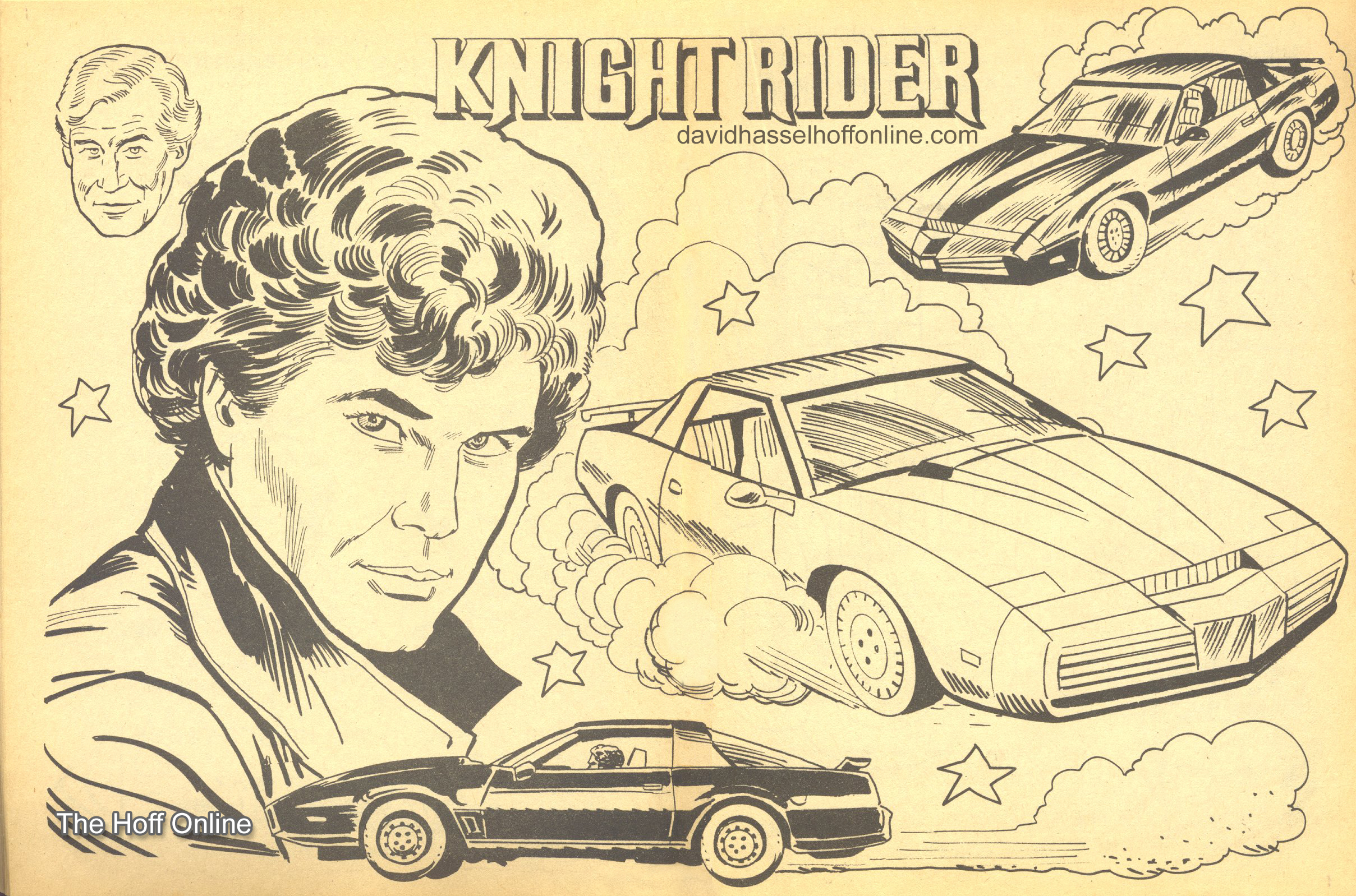 Knight Rider Coloring Pages - Eskayalitim