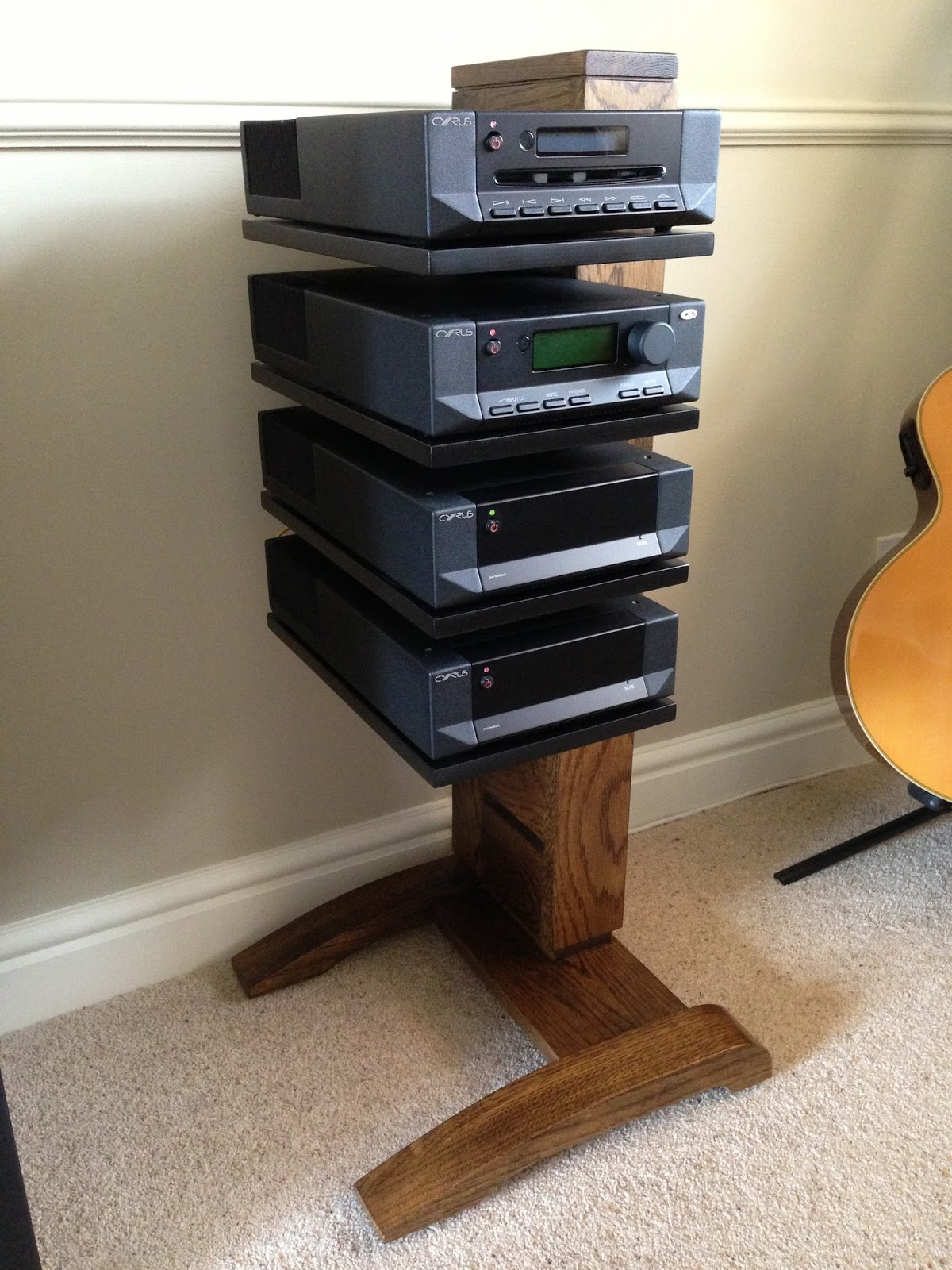 Hifi Rack Oak Handmade Furniture David Head Furniture Makers