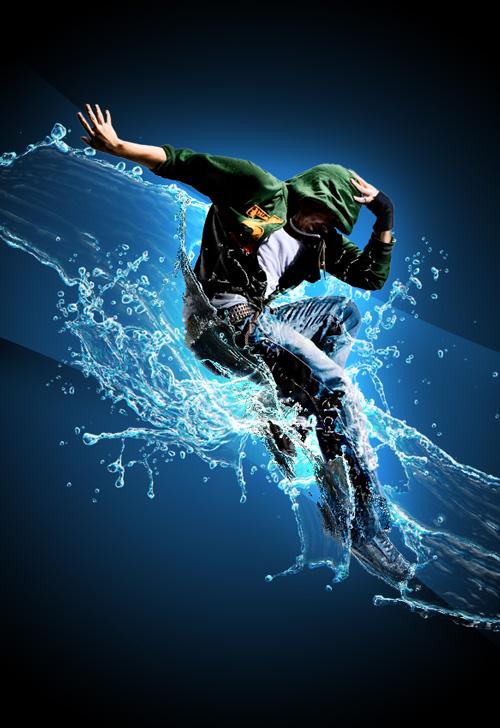 Never Trust On Girl Wallpaper Splash Dance Digital Reality