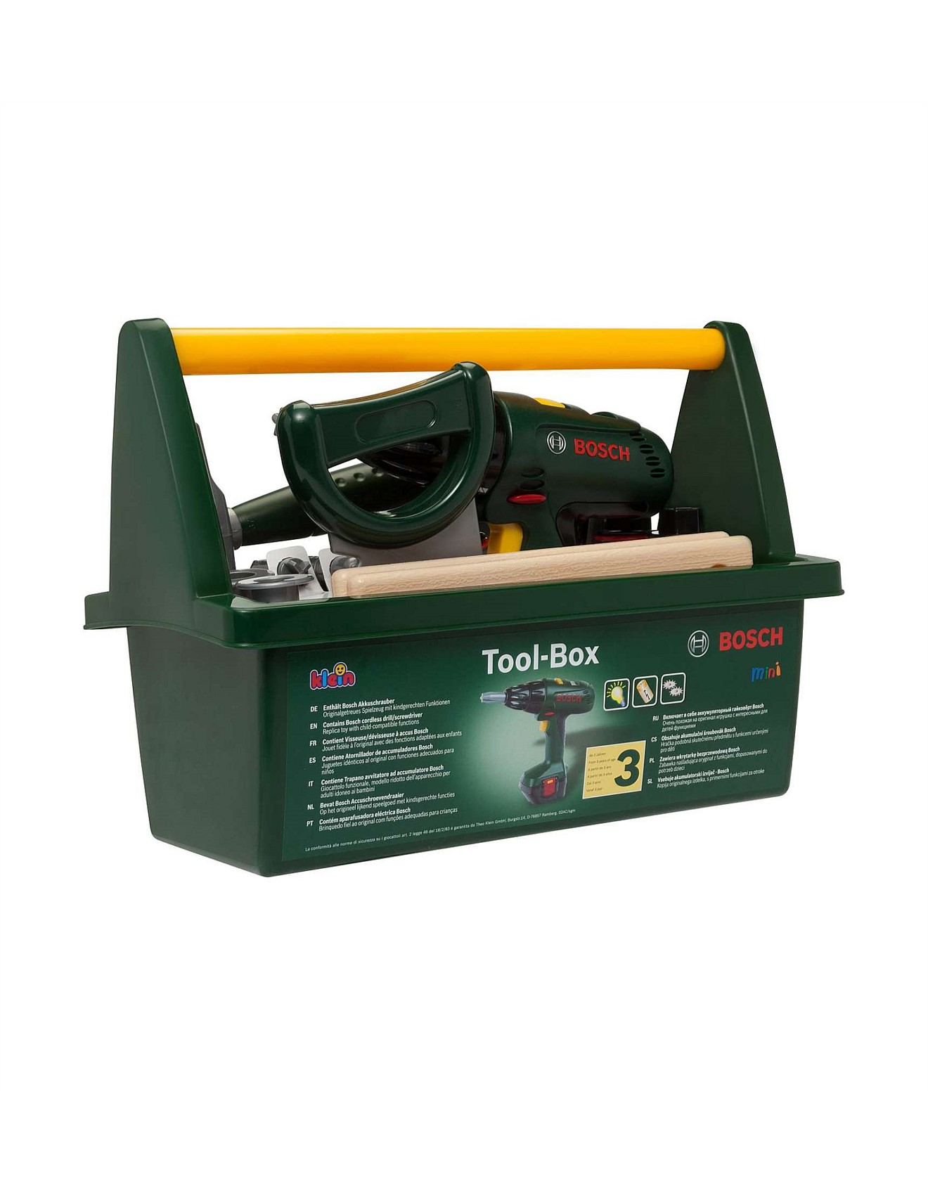 Bosch Accuschroevendraaier Toy Tool Box